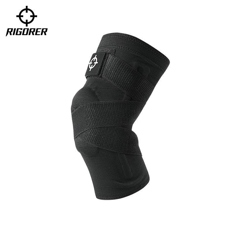 Rigorer Ginocchiale da basket in esecuzione Formazione sottile menisco Professional Protezione congiunta Protezione Sport Articoli protettivi 1 PZ