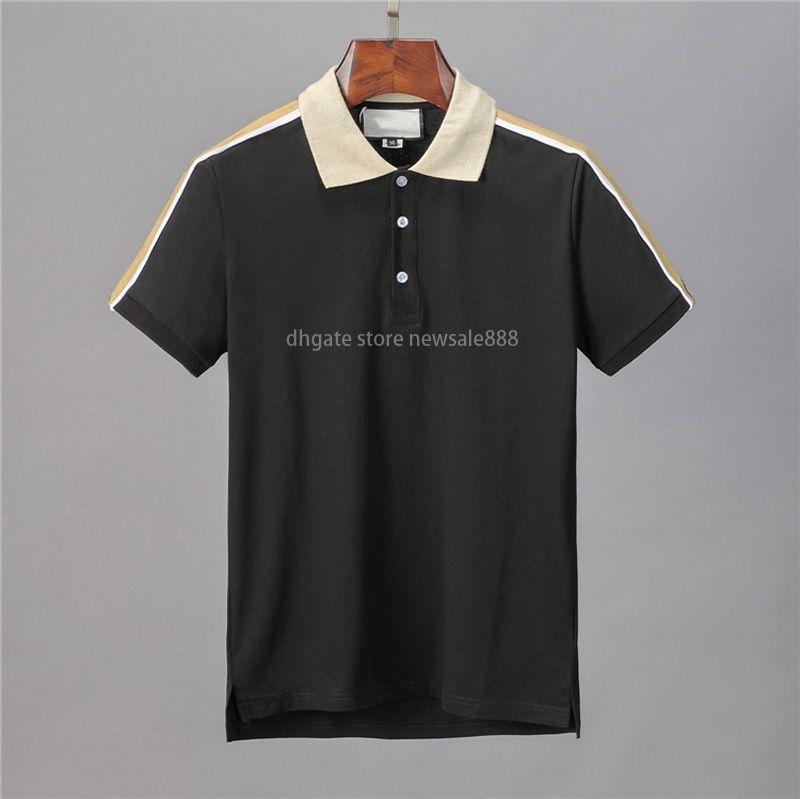 Дизайнерские рубашки поло Мужчины повседневные поло