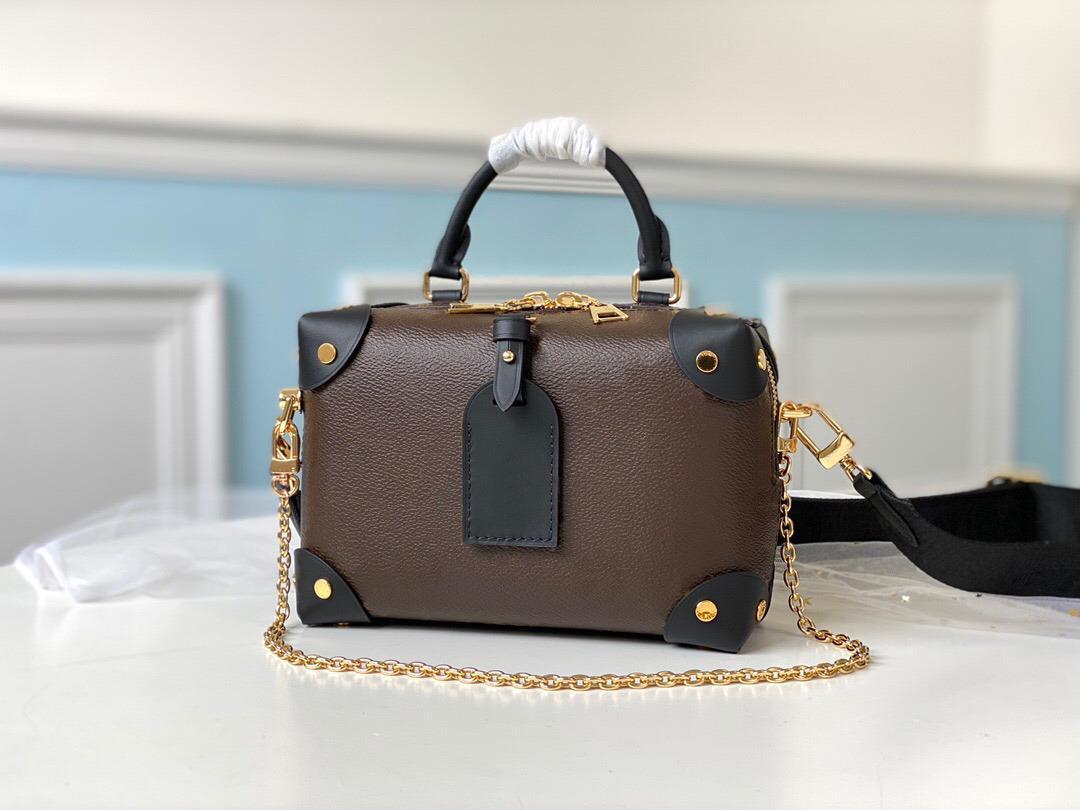 Bolso pequeño, lienzo hecho, clásico por transportado puede ser de mano o hombro, bolsa de diseño de lujo, carga gratuita, L022 SRWIO