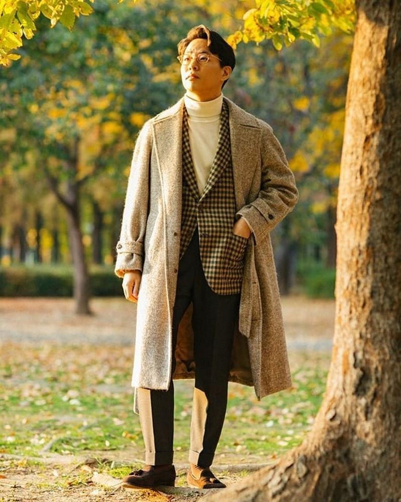 Cappotto di lana in lana Grigio Giappone Stylethick Plus Giacca a V-sleeve della cintura singale solida della cinghia del V-manicotto di V-manicotto di modo casuale