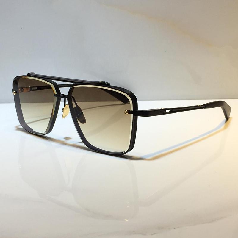M mit Sonnenbrille Vintage Modell Beliebte Metall UV-Stil Herren Stil Square Frameless Mode 400 Verkauf Kommen Six Sonnenbrille Heiße Objektivpackung VFKO