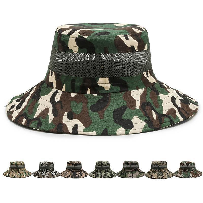 Chapeau de soleil respirant d'été pour hommes et femmes hommes seau chapeau de chapeau de panama