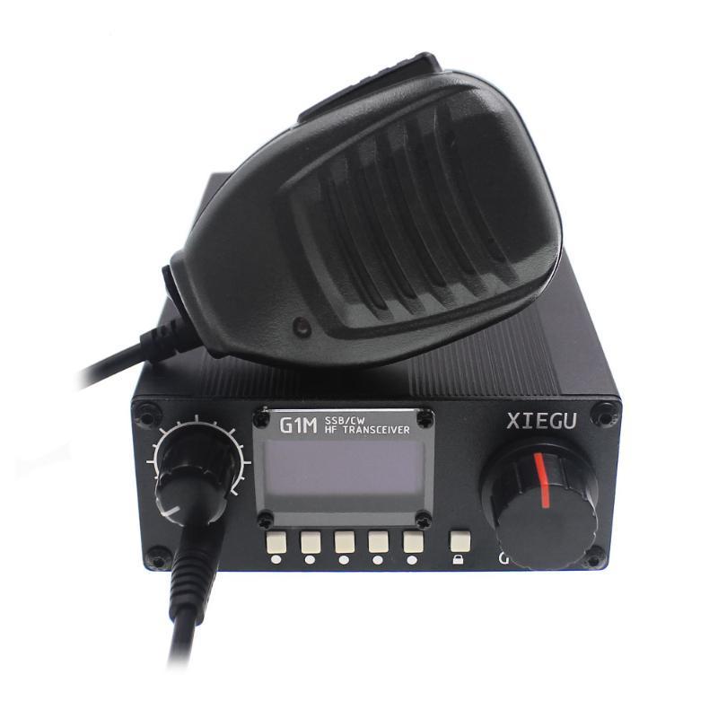 XIEGU G1M КВ трансивер SSB / CW 0.5-30MHz Moblie Радио Хэма QRP G-ОСНОВНОЙ СДР Радиолюбительский