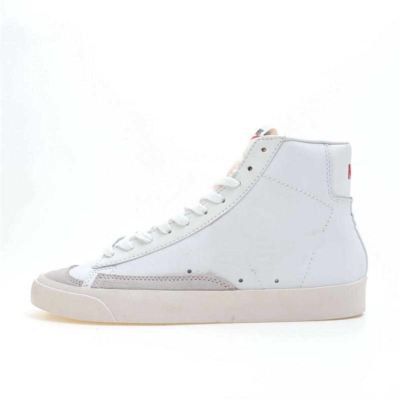 Оригинальный Blazer Mid 77 Винтаж Кирпич Красный Средний Верхний Повседневная Спортивная обувь для мужчин Унисекс Женщин Кроссовки D27