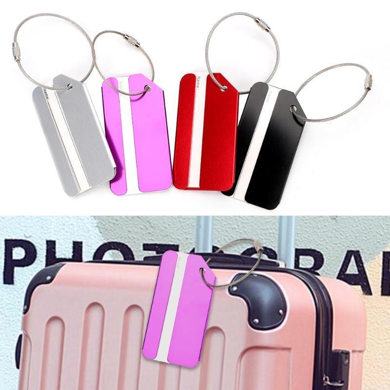 Niceyard Metal Etiqueta Etiqueta Etiquetas Etiquetas Etiquetas Equipaje Pase Travel Maleta de viaje Tarjeta comprobada para bolsas de almacenamiento