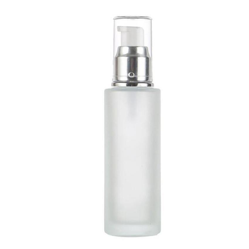 20ml 30ml 40ml 50ml Frosted Glass Bottle Lotion Mist Spray Pump Bottles Cosmetics Sample Storage Containers Jars Pot Perfume Bottle GGA3832