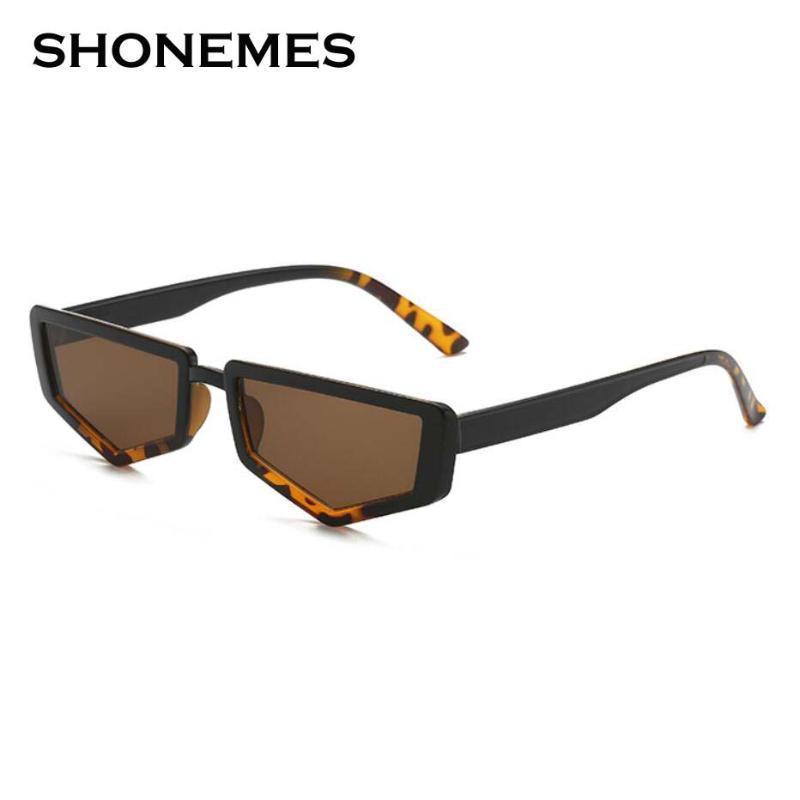 Designer polígono vintage pequena moda óculos de sol streetwear sombras irregulares mulheres óculos toabv