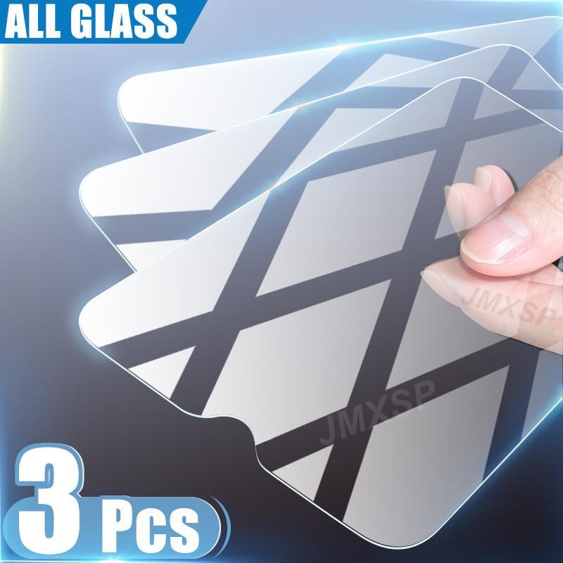 3pcs Glass Temperato per Samsung Galaxy A10 A20 A30 A40 A50 M10 M20 m30 M40 M40 Vetro protettivo A10S A20E A20S A30S A40S A50S Vetro