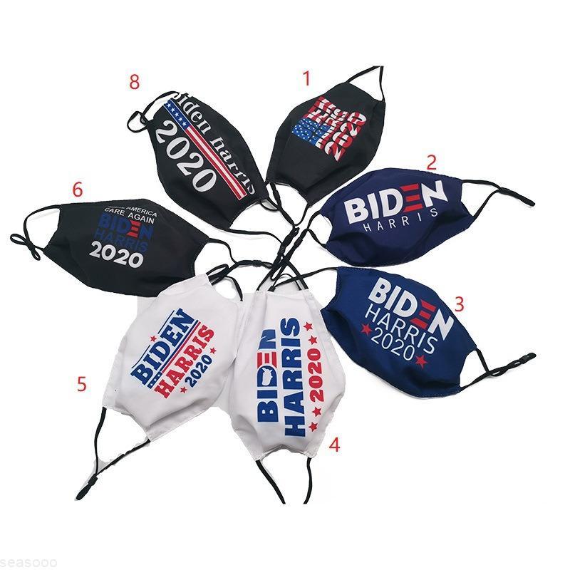 Моющиеся BiDen Harris для доказательства Доказательства США 2020 выборов избрание хлопчатобумажная маска для ткани с реюмимами на открытом воздухе.