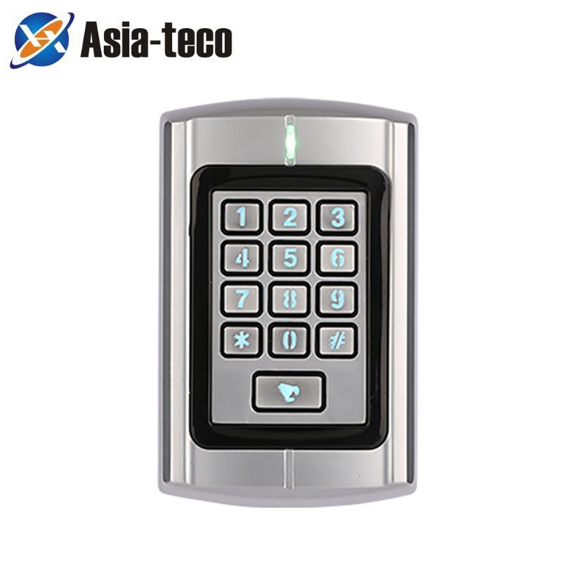 ZKRT380 Métal Machine de contrôle d'accès RFID RFID 1000 utilisateurs Lecteur de la carte Vecteur de la porte Système de contrôle WIEGAND