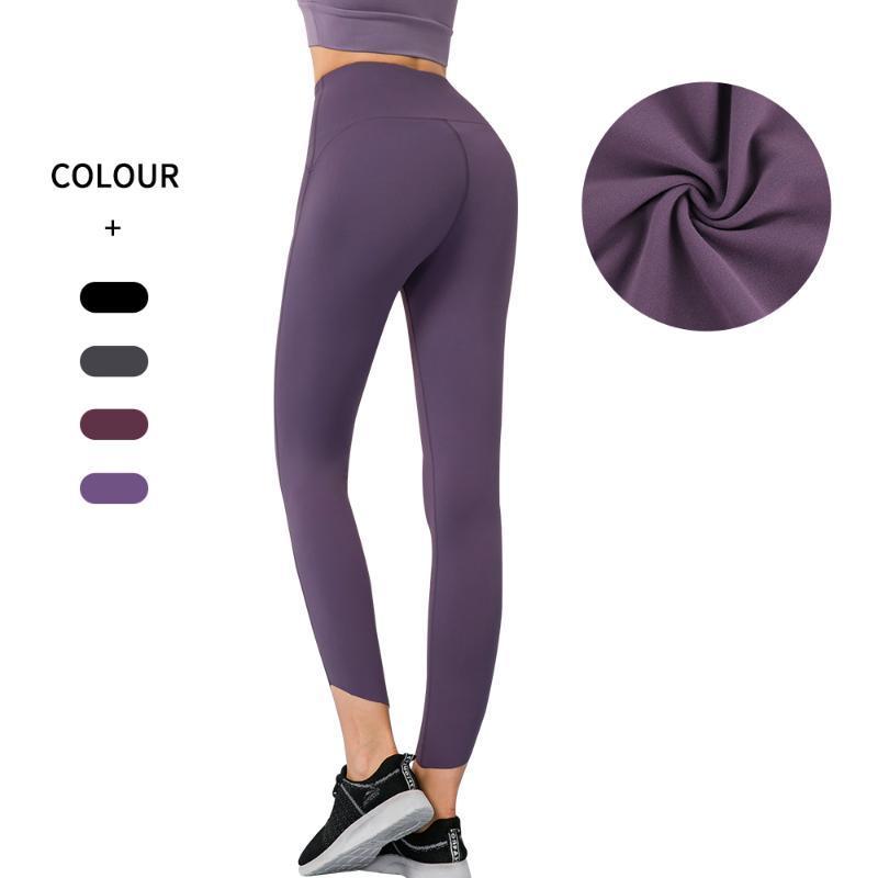 اليوغا تتسابق المعنياتاسسو النساء عالية الخصر تنفس اللياقة البدنية طماق الرياضة الجوارب السراويل تجريب sweatpants رياضة دويك الجاف بنطلون