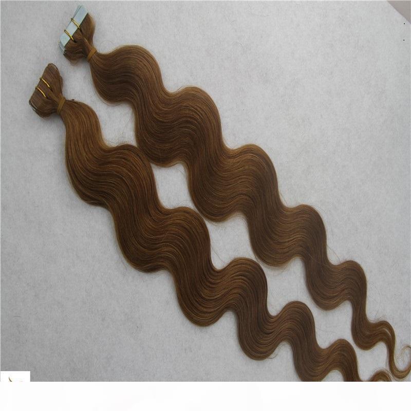 Ruban Remy EXTENSIONS DE CHEVEUX 2.5G PC 40 PCS PCS 100% Cheveux Humains Vague Corps 6a Skin Hair