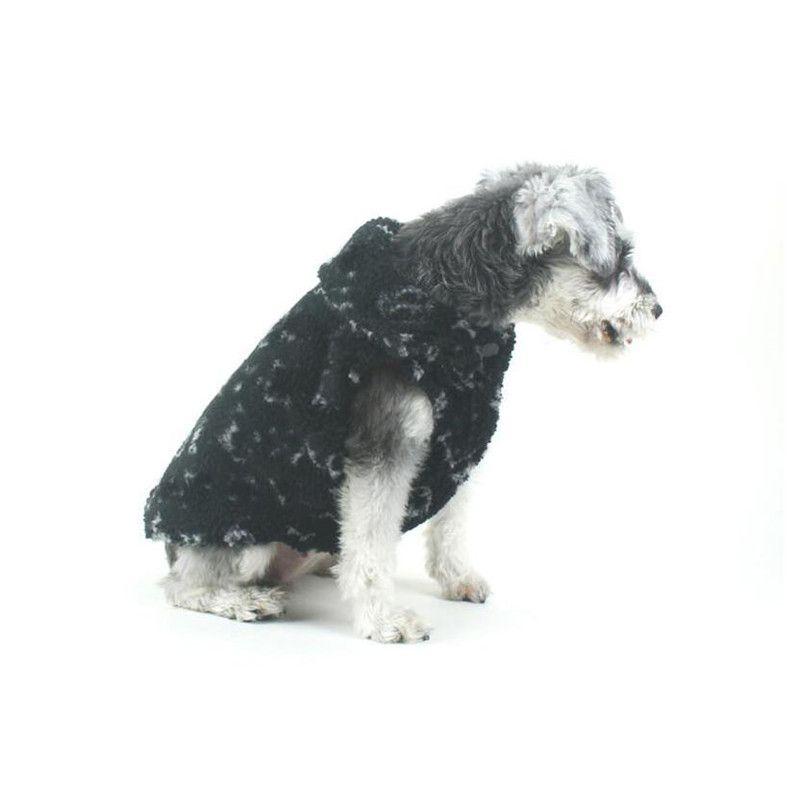 Домашние животные бархатные утолщенные куртки классические флора узор бихон Шнауцер Paill роскошный мягкий прикосновение бульдог теплые жилеты