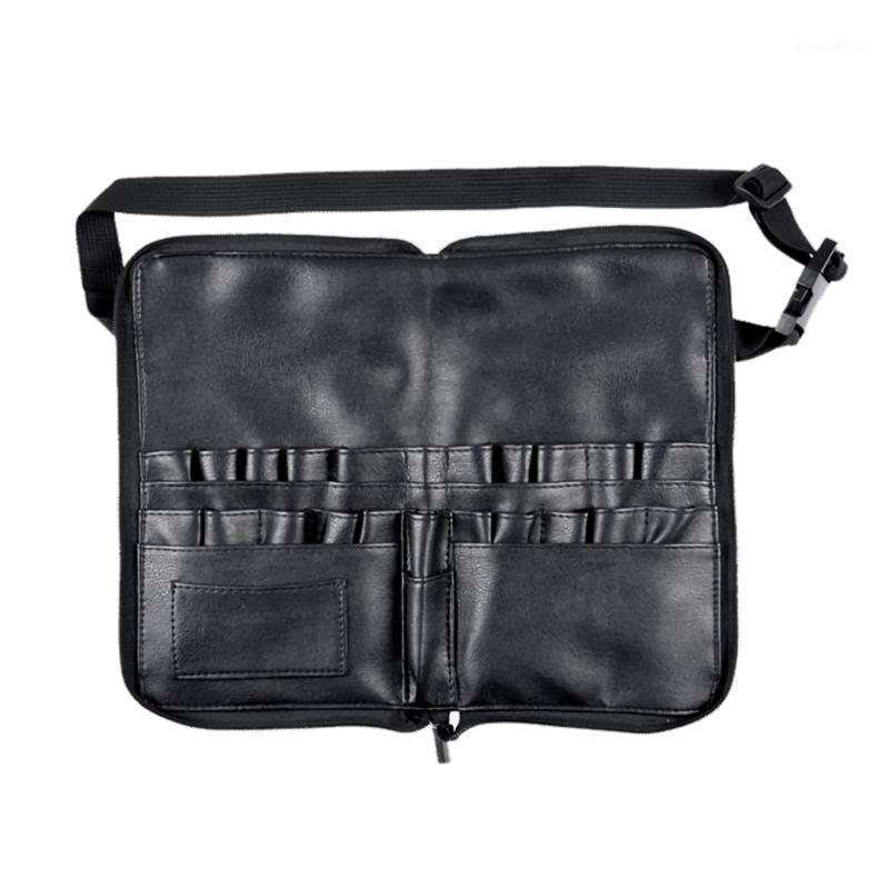 Профессиональный макияж кисти талии сумка классические цвета и простые прочные дизайна дизайн косметические ручки держатель инструментов инженерных инструментов организатор1