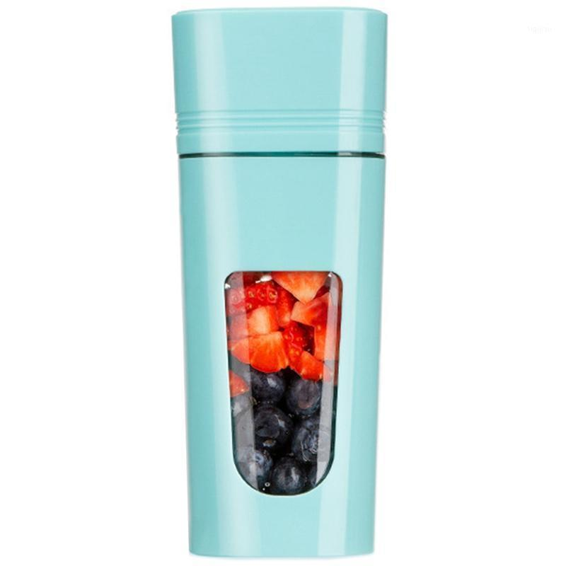 Entsafter tragbarer Mixer für handgefertigte Obst- oder Gemüse-Smoothie Mini-Entsafter mit usb wiederaufladbarer Outdoor, Reisen blau1