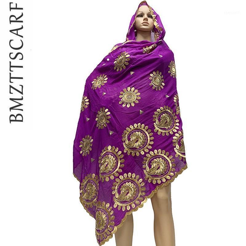 Afrikanische Frauen Schals Big Circle Design Große Embodierer 100% Baumwolle Schal für Tücher BM7971