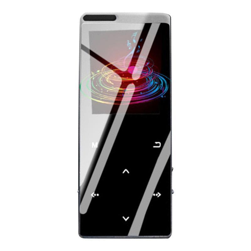 RONGHUA MINI BT MP3 Player 8GB HiFi Музыкальные плееры Сенсорный экран Аудио видеоплеер с наушниками и зарядным кабелем