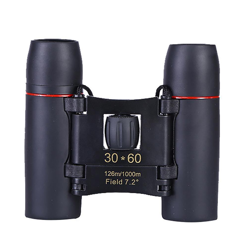 30x60 Маленьких компактный бинокль телескоп портативной мини Hd бинокулярный для путешествий Достопримечательности Наблюдения за птицами Спортивных игр