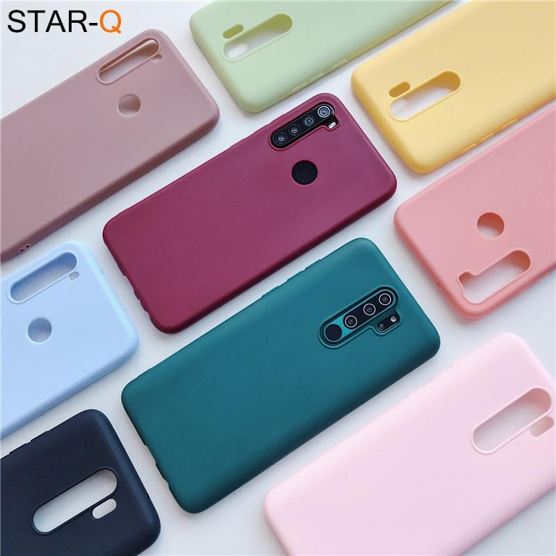 Custodia in silicone color caramella per OPPO per OPPO RENO 2 Z 10x zoom A5 A9 2020 A11X F5 F7 A3S A73 ACE 4 Pro Morbido morbido TPU TPU