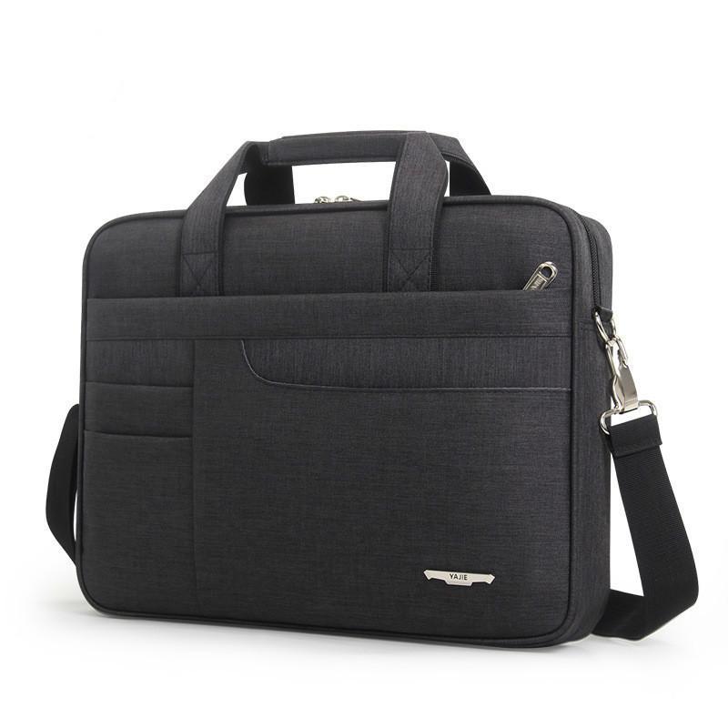 2020 Women Simple Briefcase Men's Computer Oxford Laptop handbag Office Bags For Men Shoulder Bag Messenger Bolso Hombre Q0112