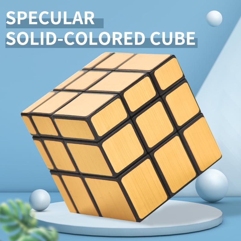 TW2010095 DIY Rubik's Cube Puzzle Color Candy-Color Cincuenta Purios Popularizar y enfocar en Cube Anti-Flying Edge Puzzles Magic Cubes