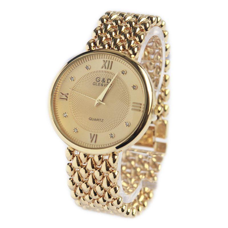 Moda Casual Mulheres Quartzo Relógios De Pulso Luxo Pulseira Mulheres Assista Relogio Feminino Numerais Romanos Relógio Reloj Mujer Presente J1205