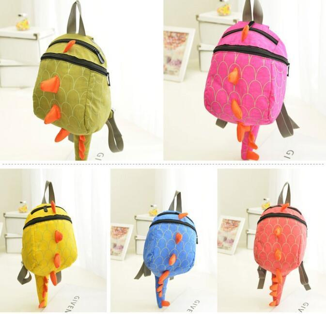 O bom dinossauro Kids Arlo Kindergarten meninas meninos crianças mochila sacos de escola dos desenhos animados animais menores Dinossauros lanches