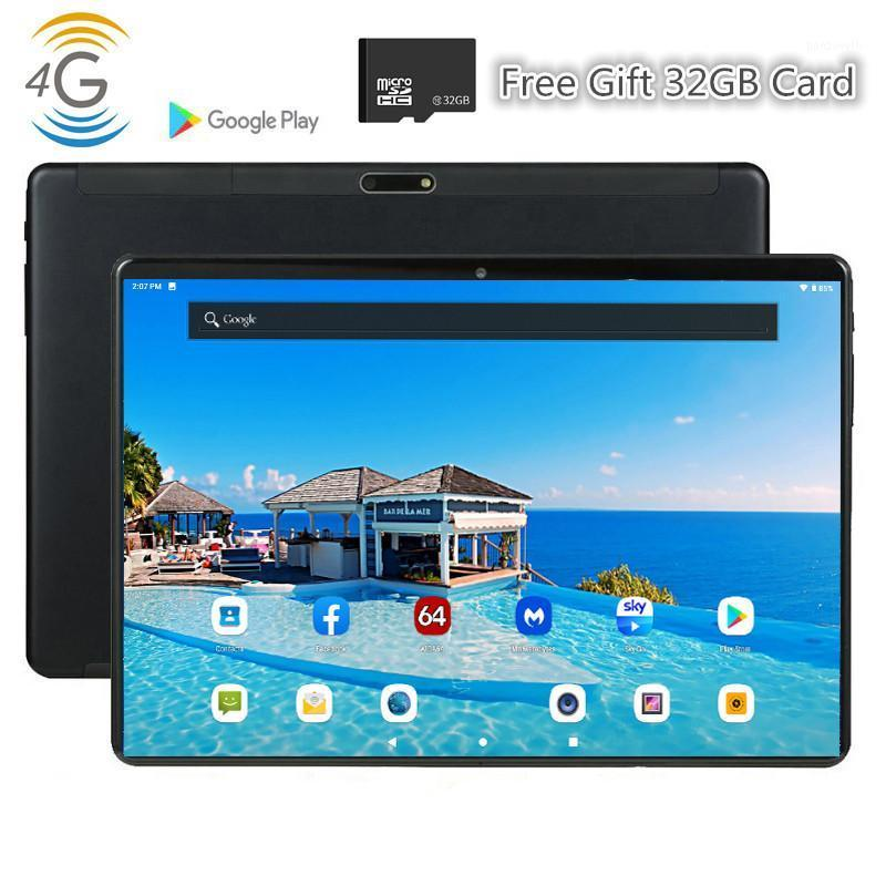 MT6739 4G LTE Mid PC Global Bluetooth WiFi Phabletooth Android 9,0 10,1 pouces Tablet MTK Core Dual Sim Card 2.5d Tablet 10 CE Band1