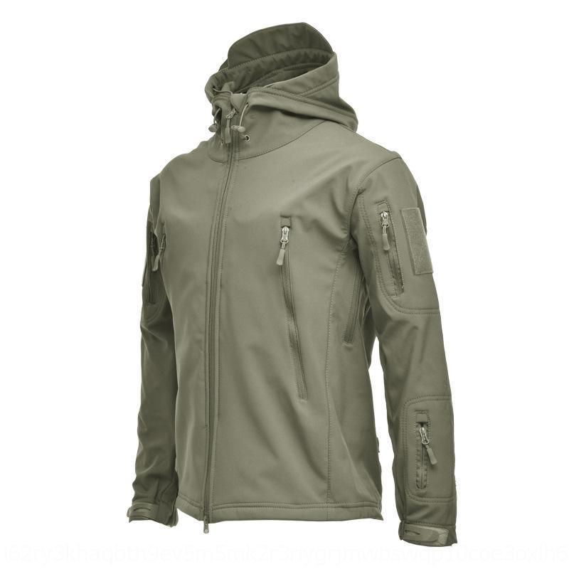 UAW9 hombres camuflaje chaqueta abajo abrigo estilo de moda wintbreaker para hombres de gran tamaño para las mujeres chaquetas gruesas cremallera abrigos de abrigo tops
