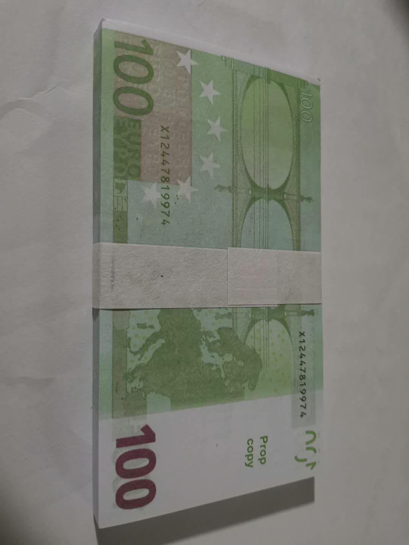 Best Quality Prop euro money billet 10 20 50 100 Euro money billet euro 20 play money dropshipping