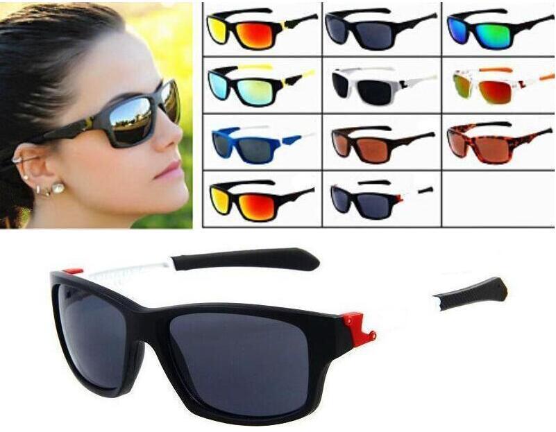 Горячие Продажи Спортивные Очки Велосипедное Стекло 11 Цветов Большие Солнцезащитные очки Спортивные Велосипедные Солнцезащитные Очки Мода Ослепительные Цветные зеркала