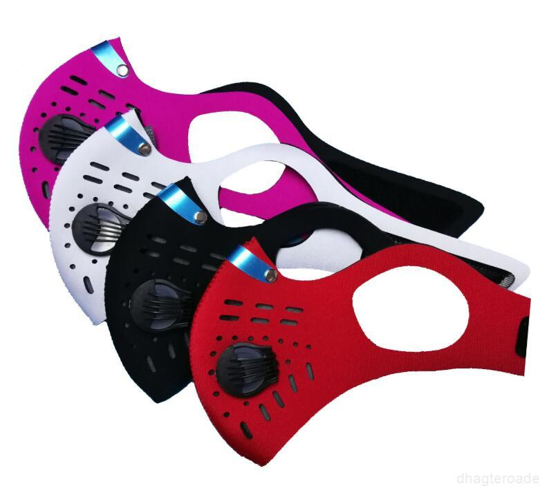 Activated Face With Cycling Carbon PM2.5 Anti-Pollution Dust Protective Sport Running riding Road Bike Reusable Masks respirator