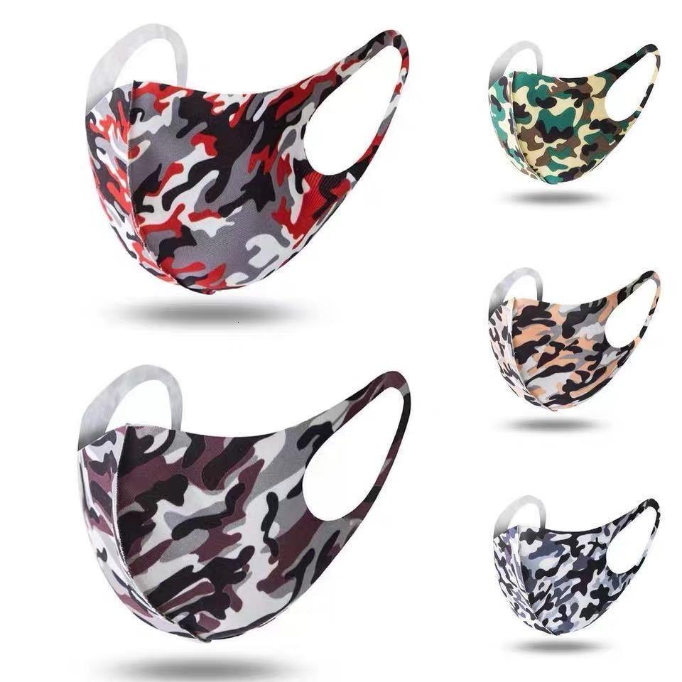 Сток камуфляжная маска для взрослой печати, мужская мода США и женское, водонепроницаемое и пыленепроницаемое, дышащее и моющееся 0,3 пространственный слой