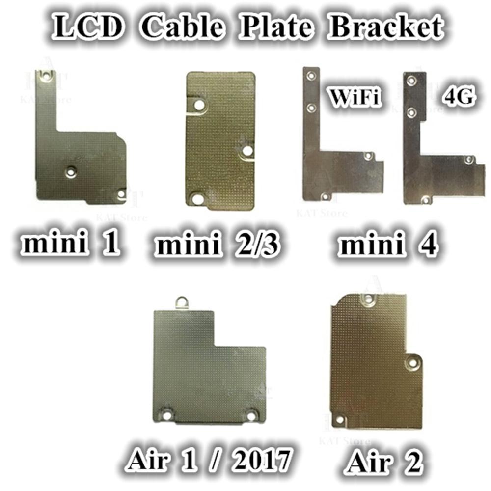 20pcs LCD فليكس كابل لوحة معدنية قوس حامل لباد 2017 2018 الهواء 1 2 ميني 1 2 3 4 LCD كابل لوحة استبدال أجزاء