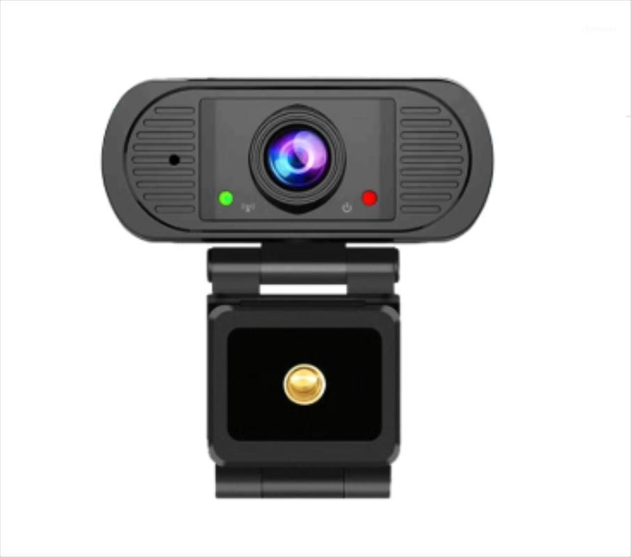 كاميرات الويب HD كاميرا ويب 1080P مع ميكروفون فيديو المؤتمر كمبيوتر كاميرا الكمبيوتر مرنة التركيز التلقائي سطح المكتب USB كاميرا ويب