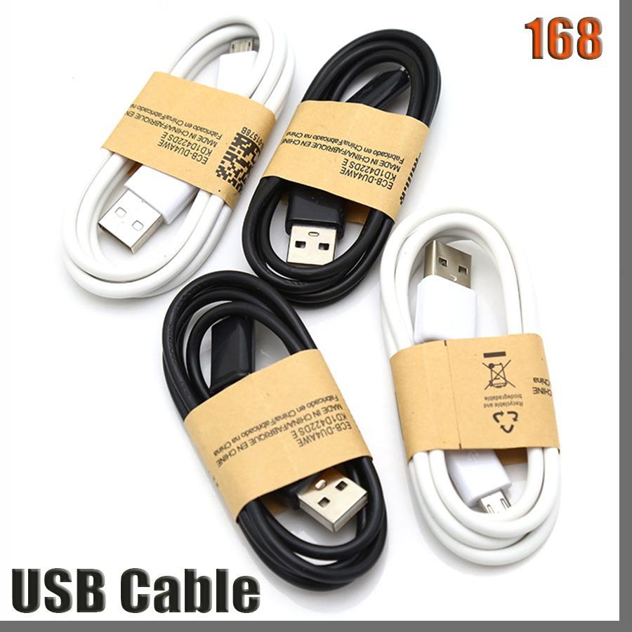 168D 고품질 S4 케이블 마이크로 V8 케이블 1M 3FT 마이크로 V8 5PIN USB 데이터 동기 충전기 케이블 S3 S4 S5 S6 HTC LG 용