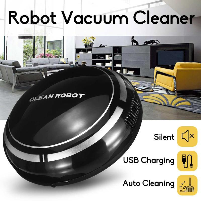 Робот Вакуумные уборщики Аккумуляторная очиститель Интеллектуальный этаж Подметающий пылесборник Smart автоматическая машина для чистки для дома