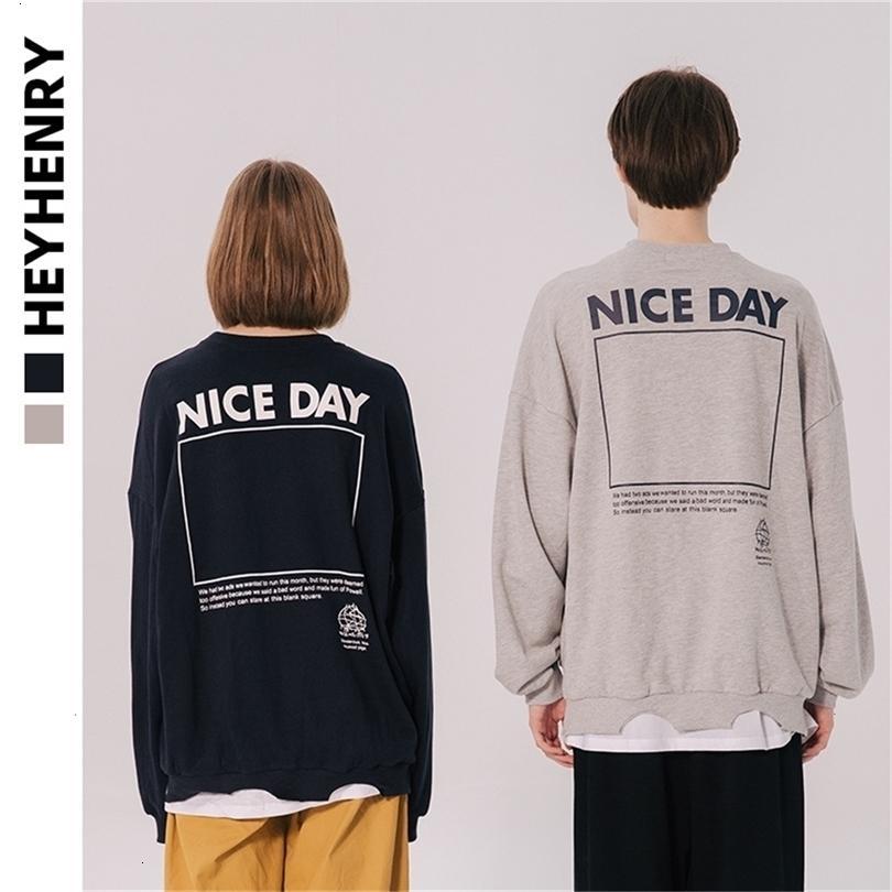 Heyhery otoño e invierno suelto fake dos insistentes al suéter de los amantes 2020 nuevos agujeros rotos moda brandlvxyjdm6