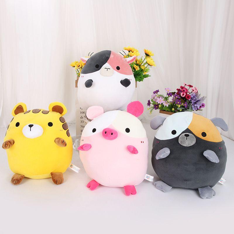 Плюшевые Squishmallow Kellytoy Dog Super Soft Plush Toy Join Pillow Pal Buddy Фаршированные животные Подарок на день рождения Q0113