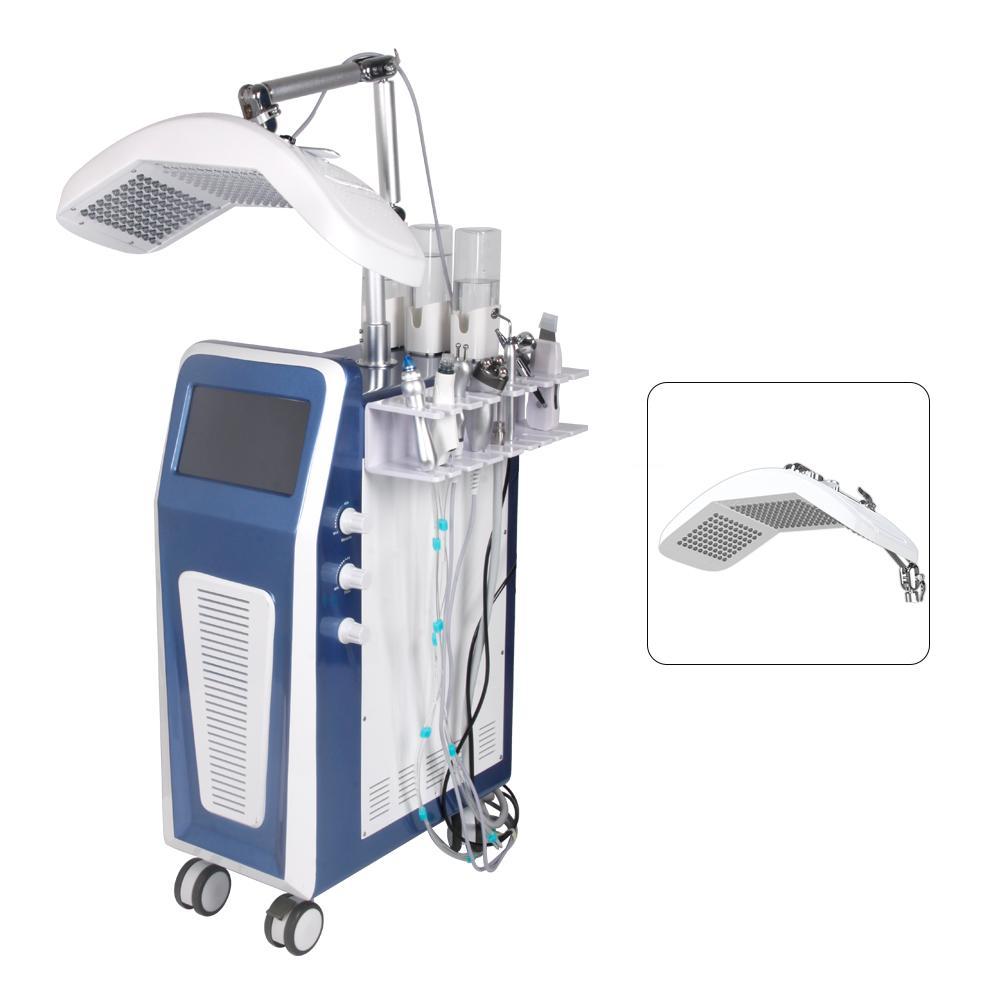 Более популярные Professional 9 в 1 реактивной кожуру воды кислород Hydra DermaBrasion лицевая машина для ухода за кожей