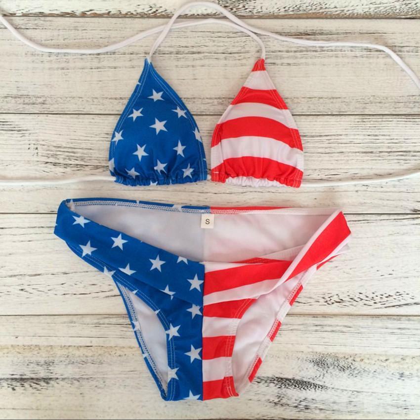 Gejin Teng 2020 Модный Сексуальный Американский Новый Треугольник Сплит Купальник Пляж Женский Бикини R9S5
