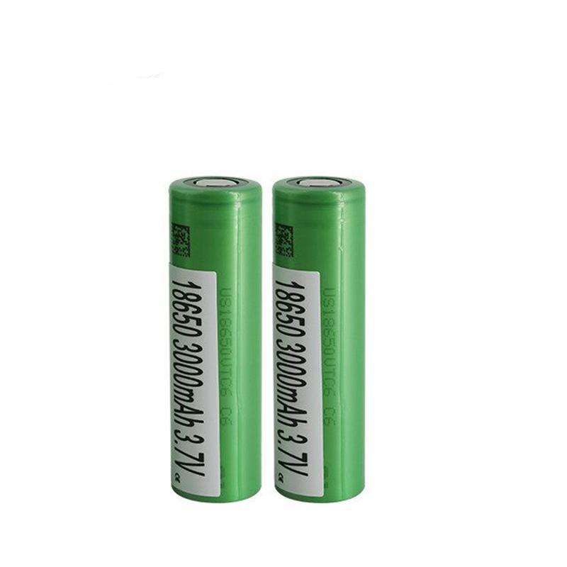 Alta Qualidade VTC6 IMR 18650 Bateria Verde 3000mah 30A 3.7V Alta Dreno Recarregável Lithium Vape Mod Bateria para Sony em estoque