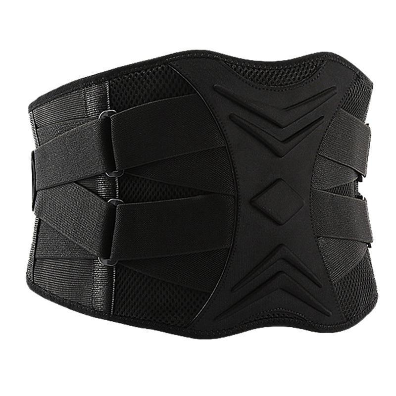 Hombres ajustables Entrenador Cintura Apoyo Cinturón Fitness Protección Deporte Back Absorb Fitness Deporte Equipo protector