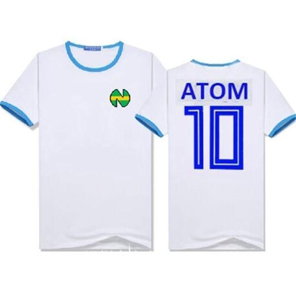 Çocuklar Erkekler Camisetas Futbol Futbol Ekipmanları Oliver Atom Maillot Eşcinsel De Ayak Fransa Kaptan Tsubasa Formalar Pamuk Gömlek C0117