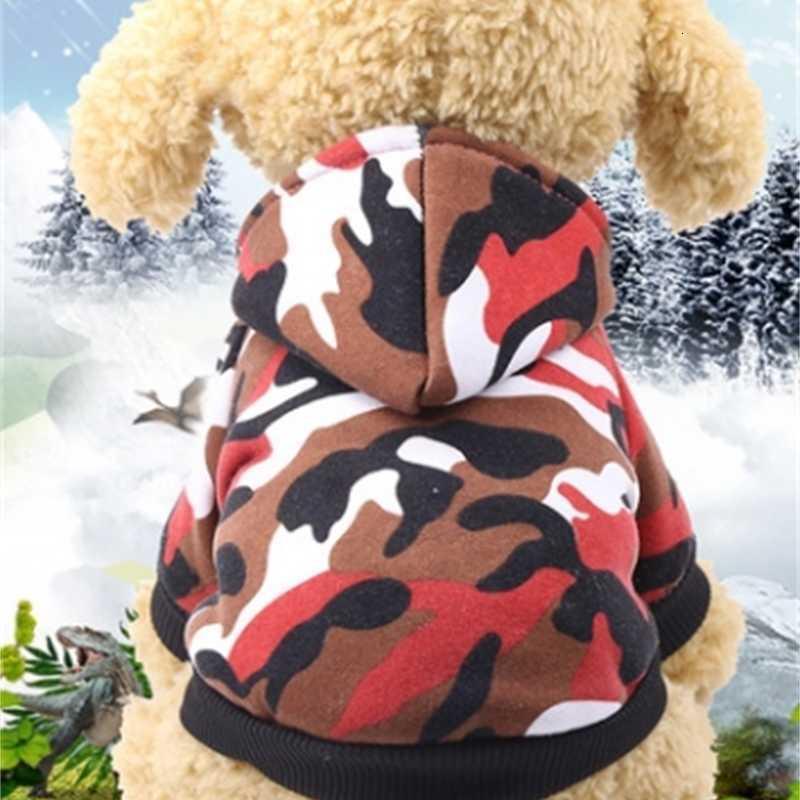 Oodie Giyim Ceket Yumuşak Pet Köpek Ceketler Kış Küçük Köpek Giyim Köpekler Kazak Pet Malzemeleri 6 Tasarımlar YW1512 RDMP