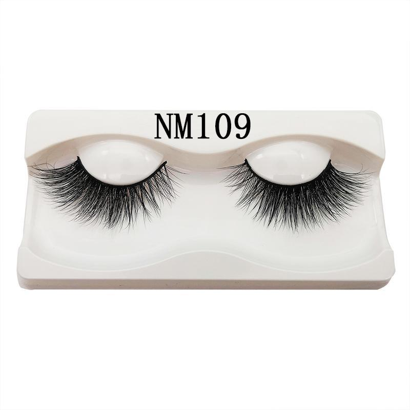 20mm Eyelashes Manufacturer 3D Mink Eyelashes Extension with Custom Box and Logo Hand Made