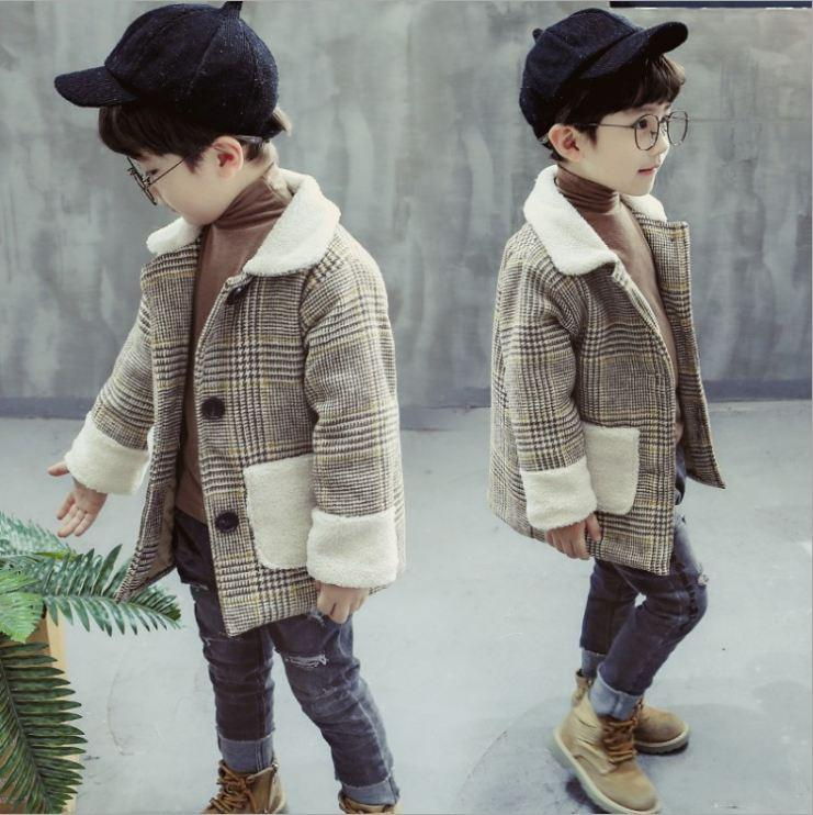 Baby coat Little boy girls clothes fashion Spring Autumn coat Cute Snowsuit for new year High Quality