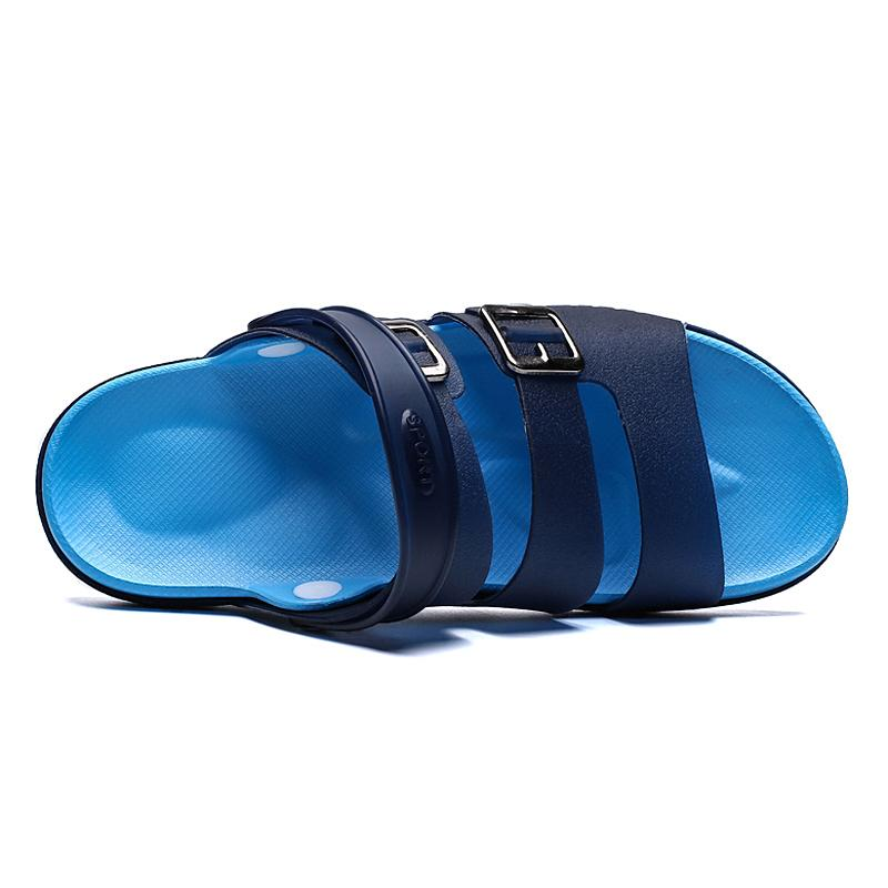 2019 New Men Sandals Summer Jelly Shoe Slippers Men Outdoor Beach Casual Shoes Cheap Male Sandals Water Shoes Sandalia Masculina
