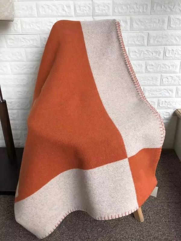Kaschmir-Adlige Luxus-Verdickung 1520 g H-Schal Schal Dicke Wolle Klimaanlage Sofa Flugzeugdecke 140x170cm