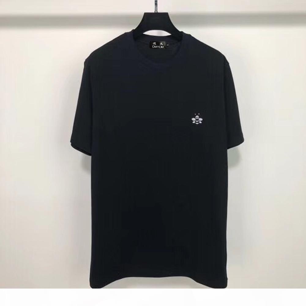 Luxury Paris Brand Uomini Donne Casual Fashion T-shirt O-Collo Nuovo manica corta T Shirt Embroidery A Bees Tshirts Joker Trendy T-shirt T-shirt